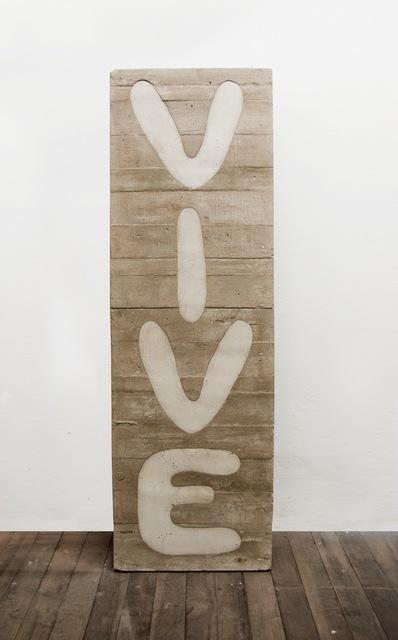 Luis Terán, 'VIVE', 2015, Document Art