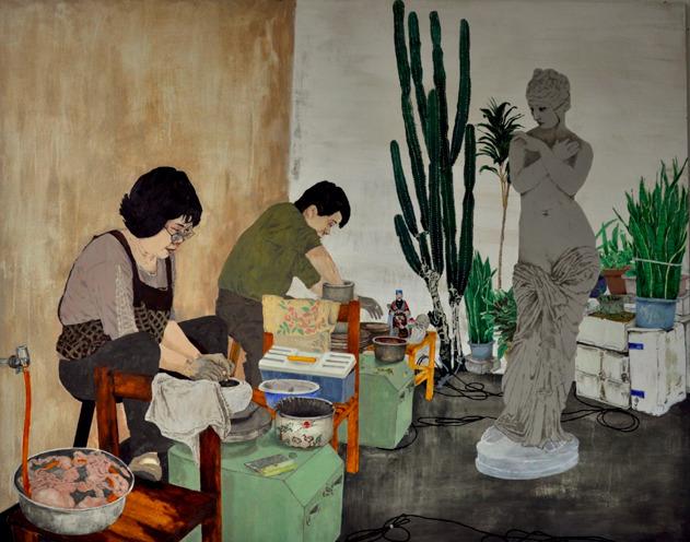 , 'Stoneware,' 2015, NUNU FINE ART