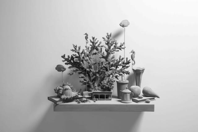 Hans Op de Beeck, 'Still Life (wall piece) (6)', 2019, Galerie Ron Mandos