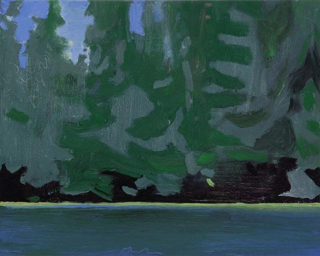 , 'Lake Edge III,' 2018, Tayloe Piggott Gallery