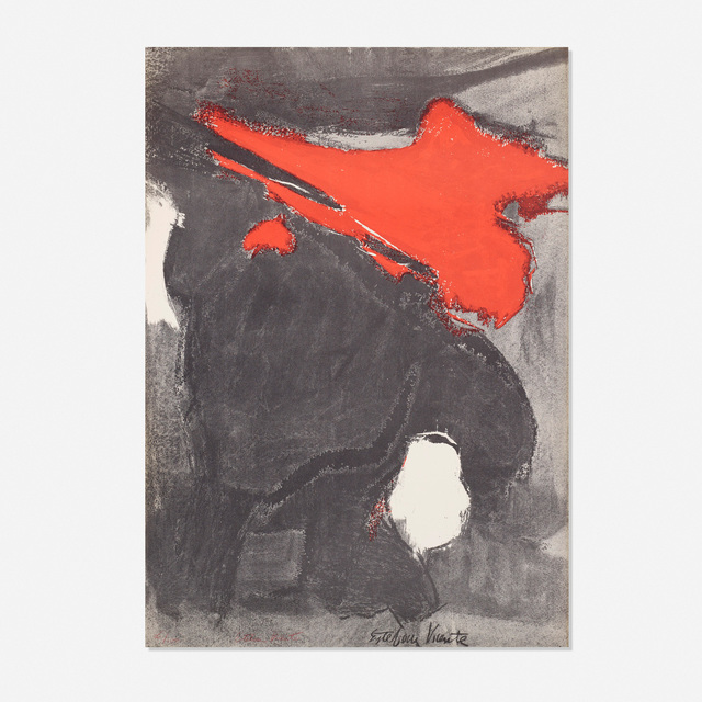 Esteban Vicente, 'Untitled', 1960, Print, Offset lithograph on paper, Rago/Wright