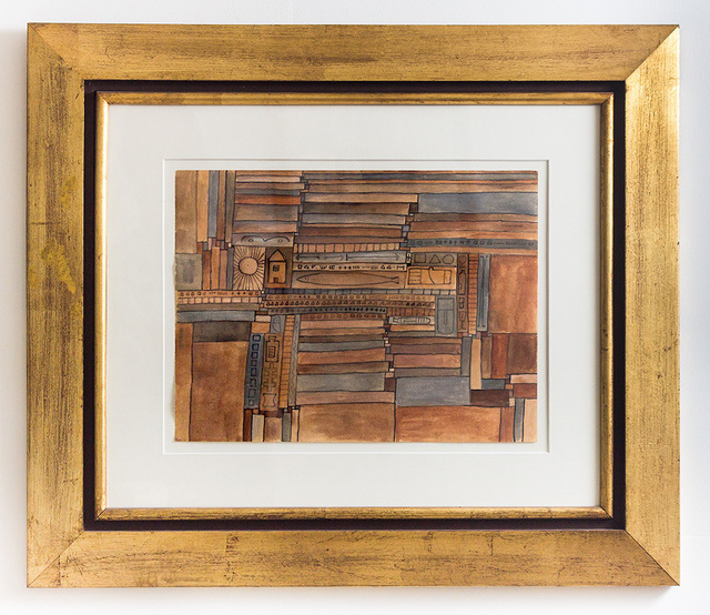 , 'Constructiva en Ocres  ,' 1965, Fromkin Fine Art