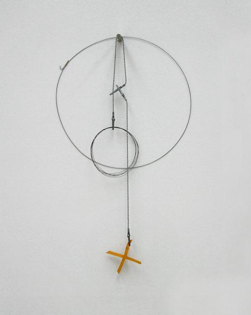 , 'Gelbes X,' 1994, dr. julius | ap