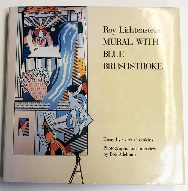 Roy Lichtenstein, 'Roy Lichtenstein: Mural with Blue Brushstroke', 1988, ArtWise