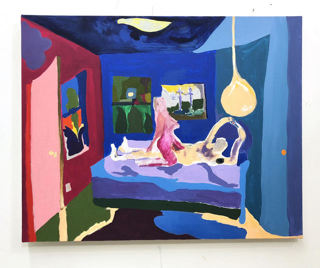 , 'Couple in Bed,' 2018, Freight + Volume