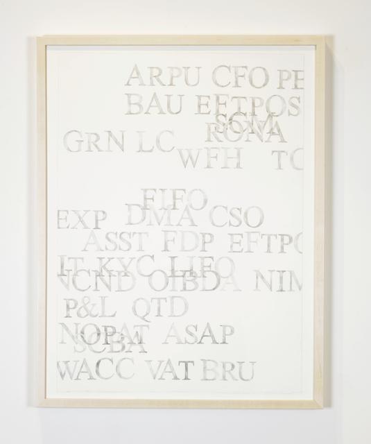 , 'BAU,' 2014, GRIN
