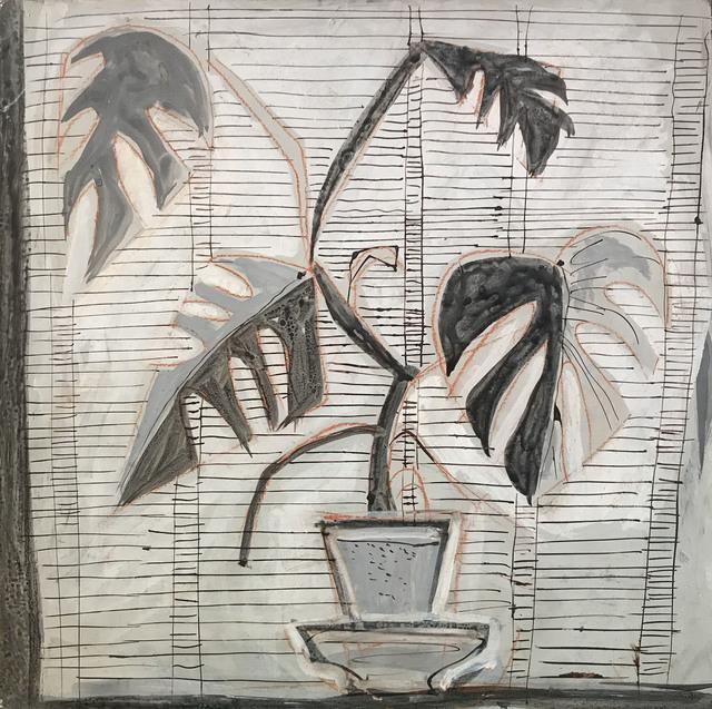John Craxton, 'Still Life', ca. 1960, Painting, Gouache, ink and crayon on board, Osborne Samuel