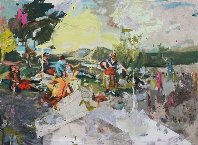 , 'La merienda 1 (Goya),' 2017, Fernando Pradilla/El Museo