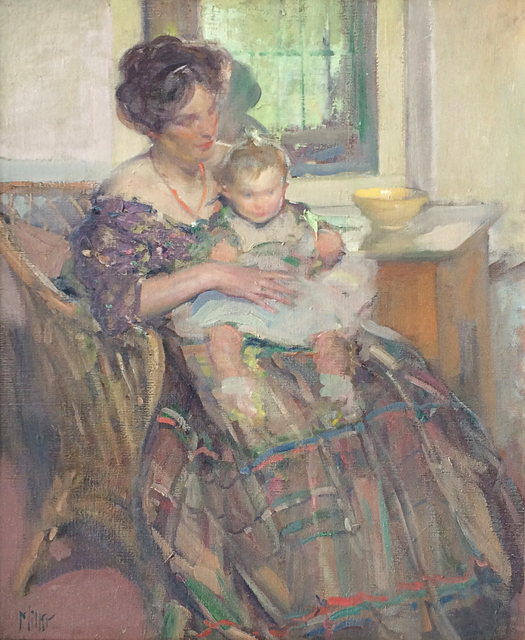 , 'Mother and Child,' 1909, Caldwell Gallery Hudson