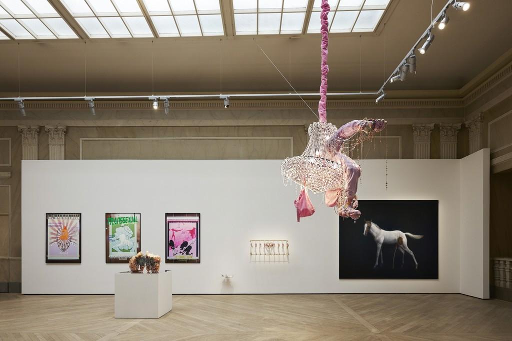 Works by Juliana Huxtable, Raúl de Nieves, Stewart Uoo, Cajsa von Zeipel and TM Davy.