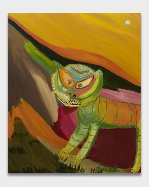 , 'Gato salvaje,' 2018, Almine Rech Gallery