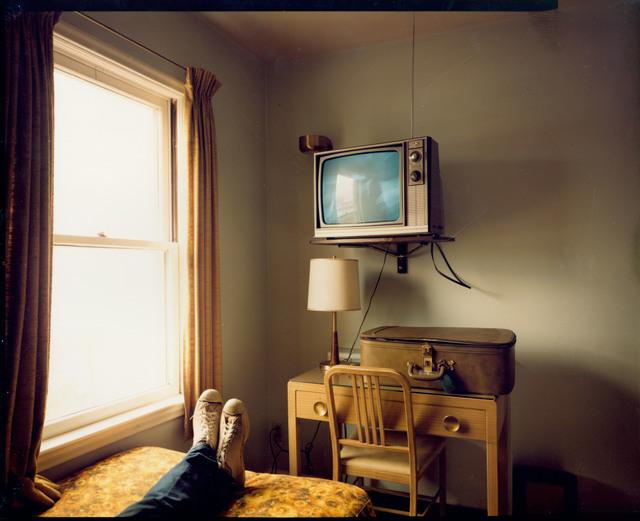 , 'Room 125, West Bank Motel, Idaho Falls, Idaho, July 18, 1973,' 1973, Edwynn Houk Gallery