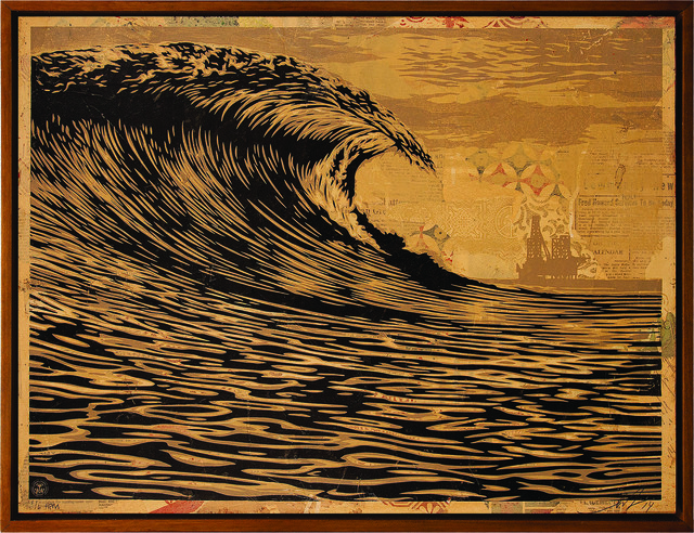Shepard Fairey (OBEY), 'This New Wave is a Little Slick for My Taste', 2014, Underdogs Gallery