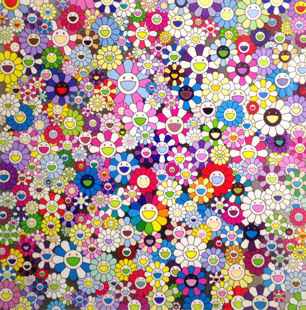 Takashi Murakami, 'Shangri-La, Shangri-La, Shangri-La', 2017, Vogtle Contemporary