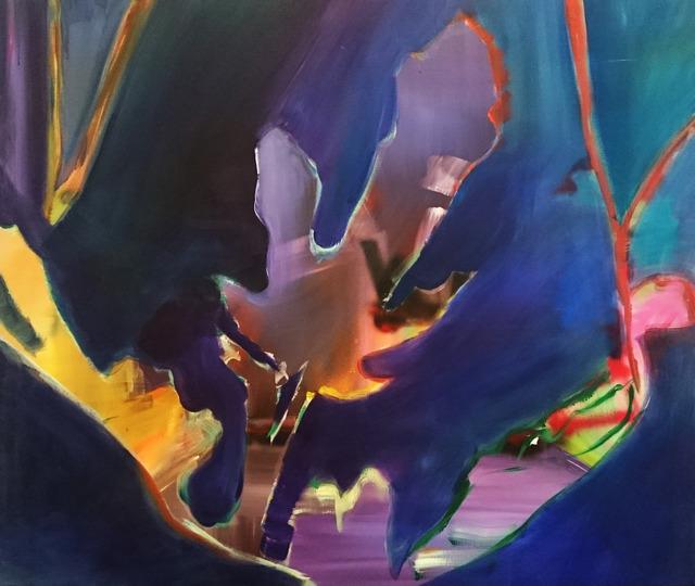 , 'Dark Forest 0,' 2015, Galerie Sandhofer