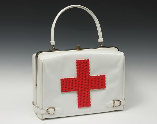 , 'Red Cross Purse,' 2013, Nancy Hoffman Gallery