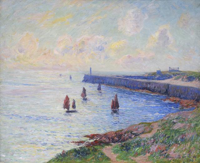 Henry Moret, 'La Jetée', 1906, Jody Klotz Fine Art