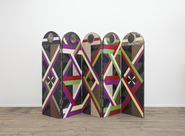 , 'Folding Screen from Graphic Utopia,' 2014, Volume Gallery