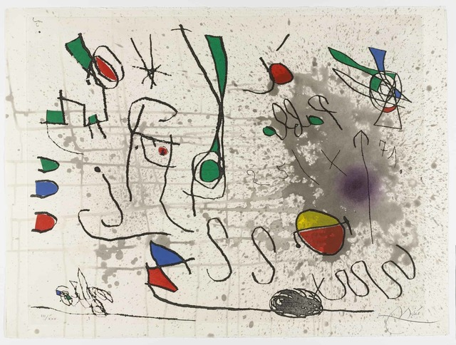 Joan Miró, 'Homage to Picasso', 1972, Abbozzo Gallery