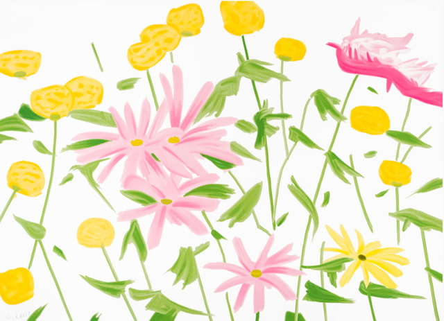 Alex Katz, 'Spring Flowers', 2017, Dallas Collectors Club