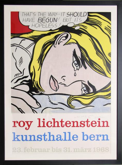 Roy Lichtenstein, 'Kunsthalle Bern', 1968, Ephemera or Merchandise, Silkscreen, RoGallery