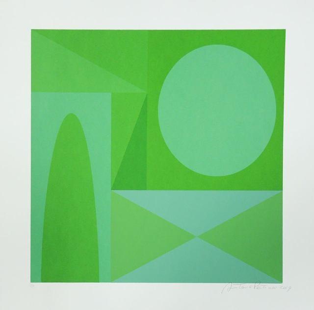 Antonio Peticov, 'Green4', 2019, Ligia Testa Espaço de Arte