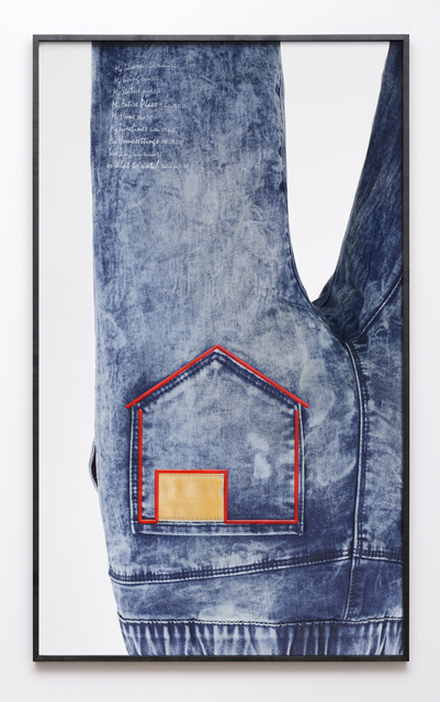 , 'Jeans/House (from to [icon] ),' 2016, Kadel Willborn