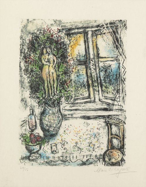 Marc Chagall, 'The Half Opened Window', 1975, Heritage Auctions