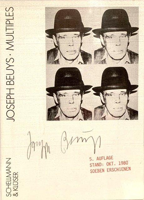 Joseph Beuys, 'Postkarte', 1980, Odalys