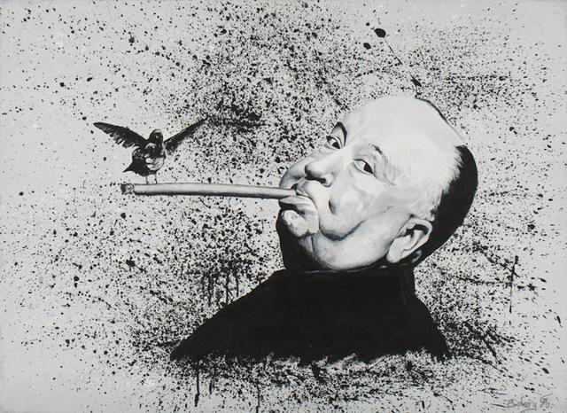 , 'Alfred Hitchcock,' 2017, Eden Fine Art