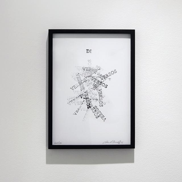 , 'Di Versos,' 2015, Carbono Galeria