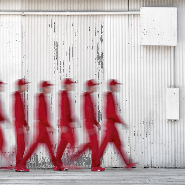 , 'In Red Walking,' 2017, Foto Relevance