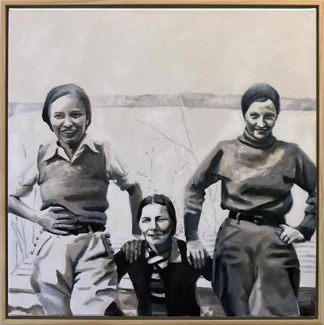 , 'Ladies of Lake Worth: Three Look at the Camera,' 2016, Jen Mauldin Gallery