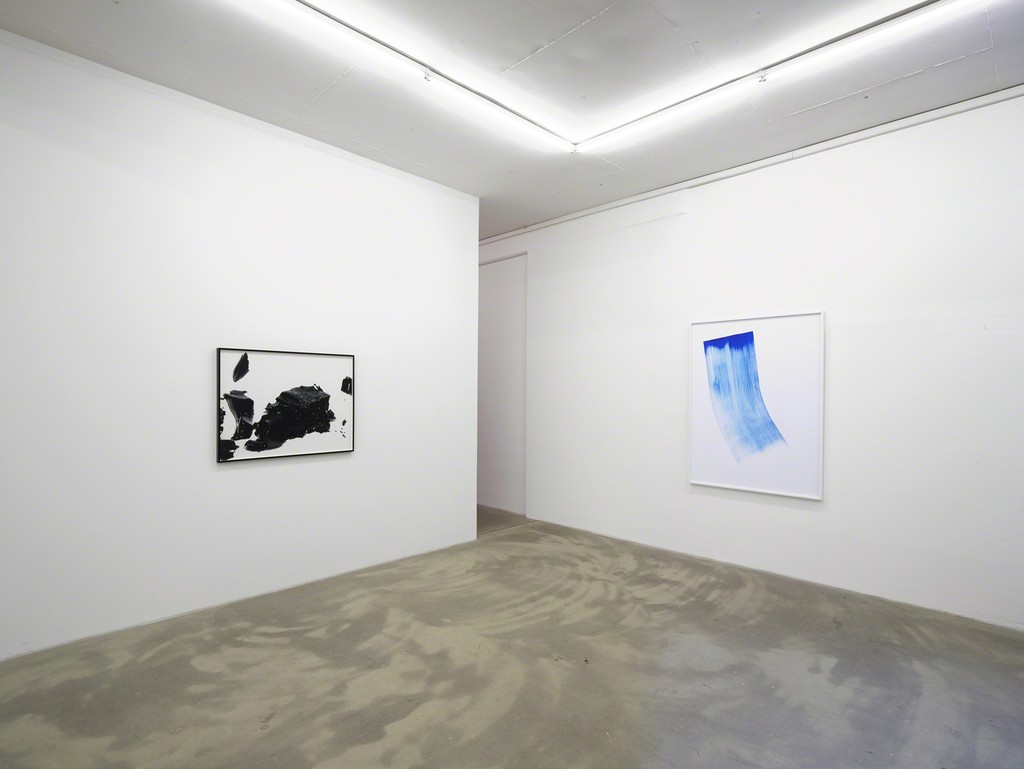 exhibition view 'The Human Apparatus', James Welling, Phil Chang, Klemm's, Berlin 2015