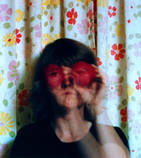 , 'Looking through a Tomato from Reflections in a Mobile Home,' 1977, RYAN LEE