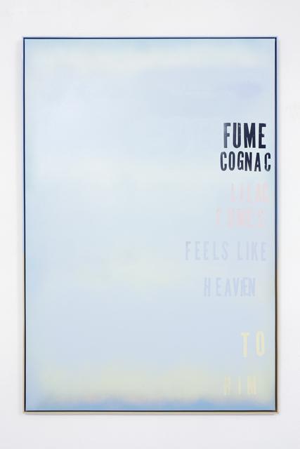 , 'Fume' Cognac,' 2015, The Flat - Massimo Carasi