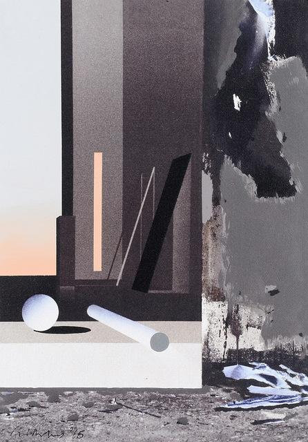 , 'Raum 1313 Floß (Atelier-Interieur),' 2016, Galerie Hans Mayer