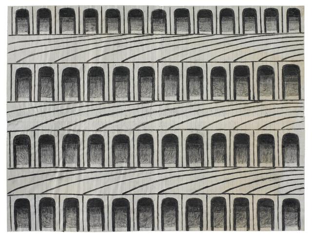 Martín Ramírez, 'Untitled (Arches)', ca. 1960, Ricco/Maresca Gallery