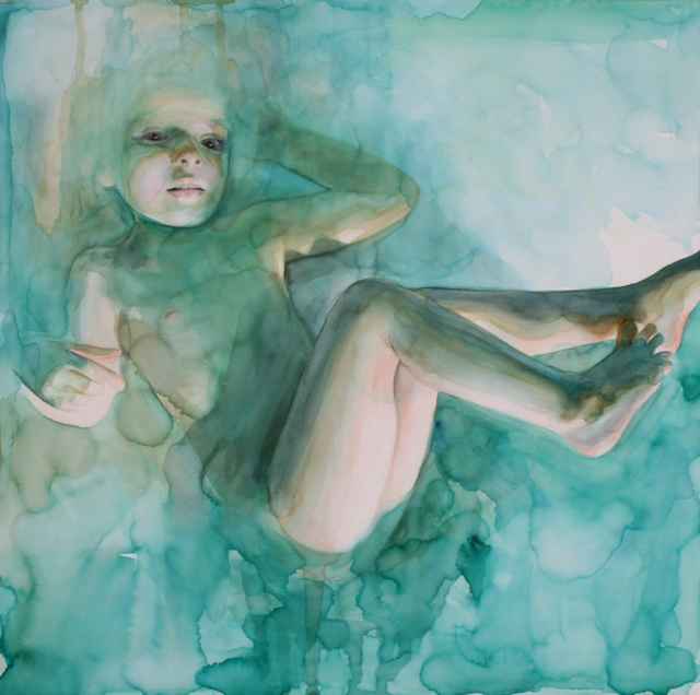 , 'In the Dream she was Floating,' , Sirona Fine Art