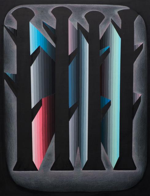 , 'Circuitous #8,' 2015, Moskowitz Bayse