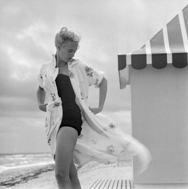 Slim Aarons, 'Pulitzer On The Beach', 1955, IFAC Arts