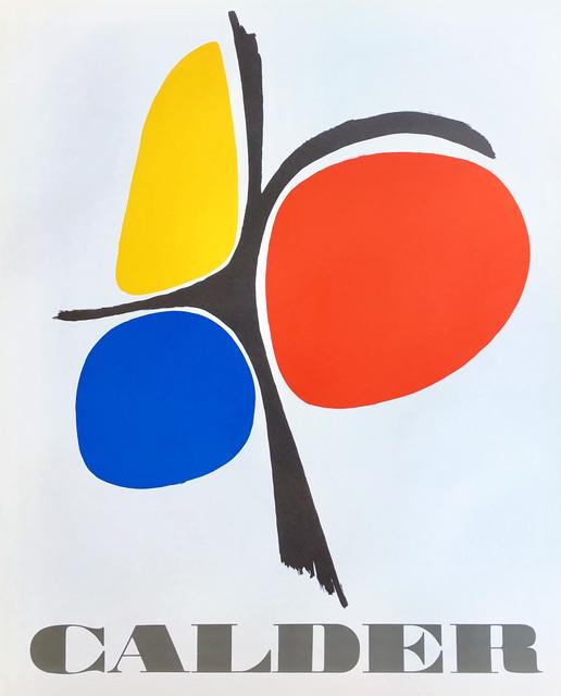 Alexander Calder, 'Vintage Alexander Calder poster circa mid 70s ', ca. 1975, Lot 180