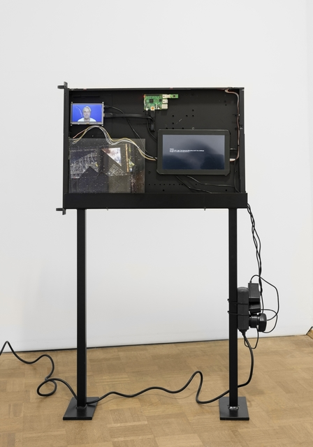 , 'Black Box (Server Sleep) PHIL,' 2015, Barbara Seiler