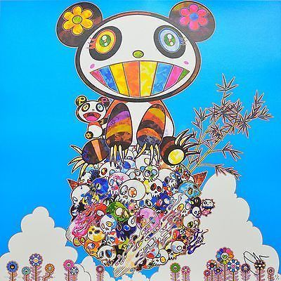Takashi Murakami, 'THE PANDAS SAY THEY'RE HAPPY', 2015, Marcel Katz Art