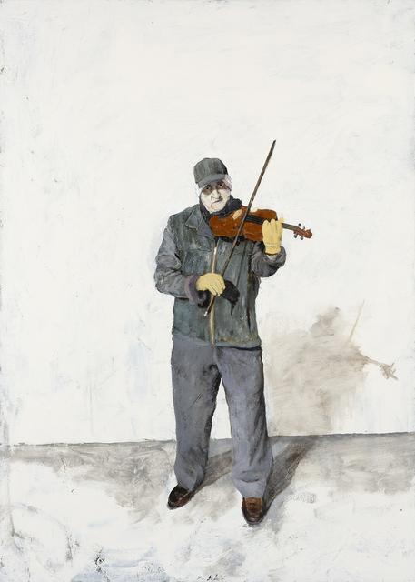 , 'Street Musician,' 2019, Valley House Gallery & Sculpture Garden