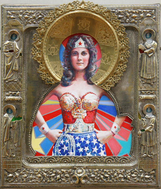 , 'St. Wonder Woman,' 2019, Julie Zener Gallery
