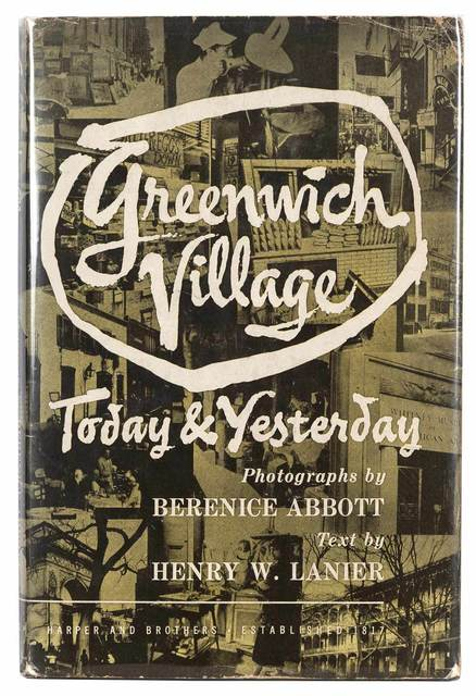 Henry Wysham Lanier, 'Greenwich Village Today and Yesterday', Doyle