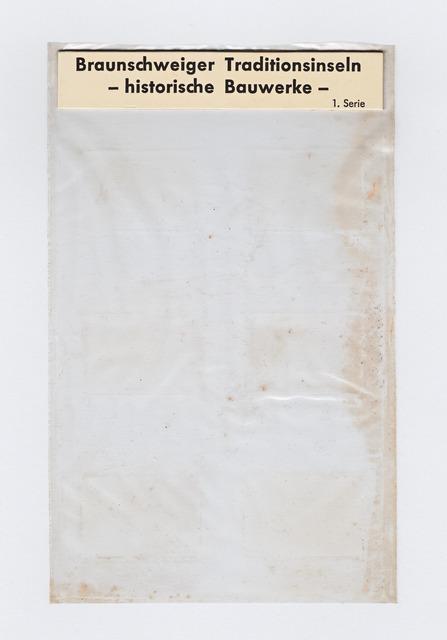 , 'TRAditionINseln historische BAuwerke,' 2013, Espacio Mínimo