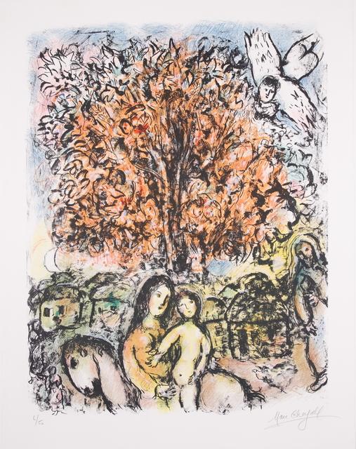 Marc Chagall, 'La Sainte Famille', 1970, Print, Lithograph, Van der Vorst- Art