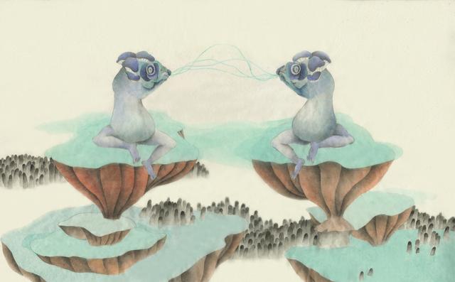 , '噤聲圖冊1,' 2015, Aki Gallery